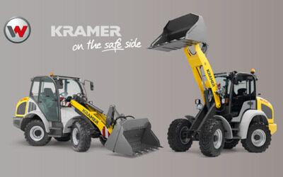 Neu bei Wolf Baumaschinen: Radlader von Kramer